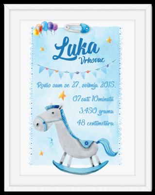 Plavi konjić