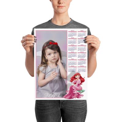 Personalizirani dječji poster kalendar