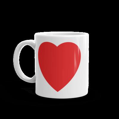 Personalizirana magic srce šalica
