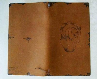 Customized Traveler's Notebook kit - Horse Bust