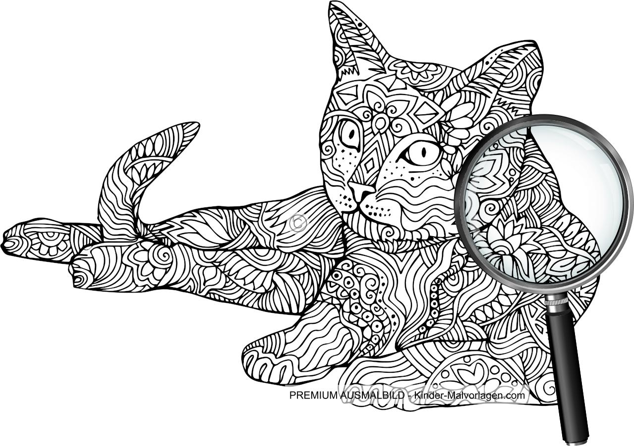 Schön Süße Anime Katze Malvorlagen Ideen - Malvorlagen Von Tieren ...