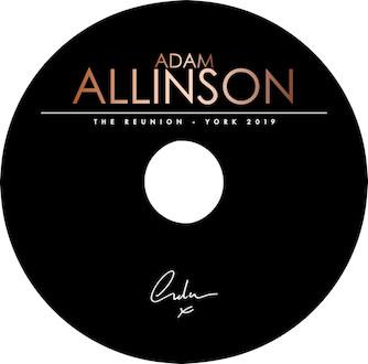 Adam Allinson - The Reunion - DVD Highlights