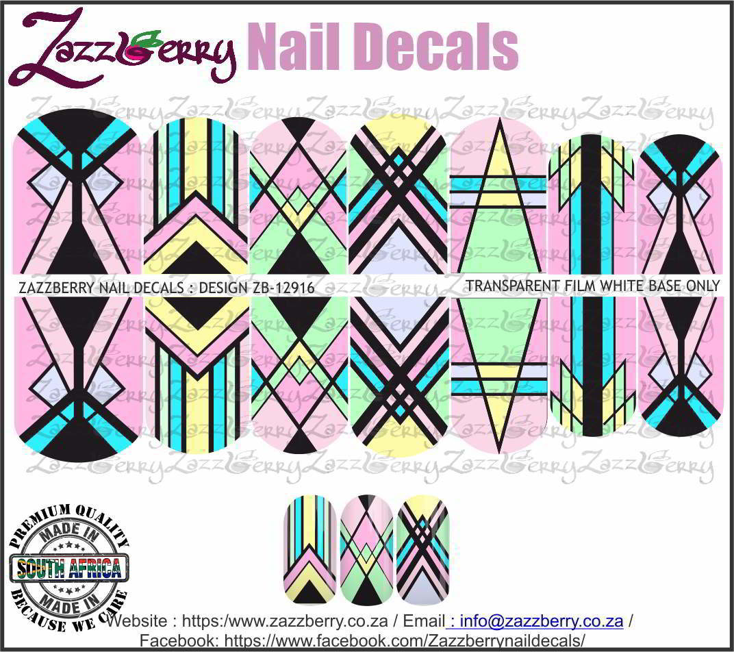 Geometric Lines Pastels