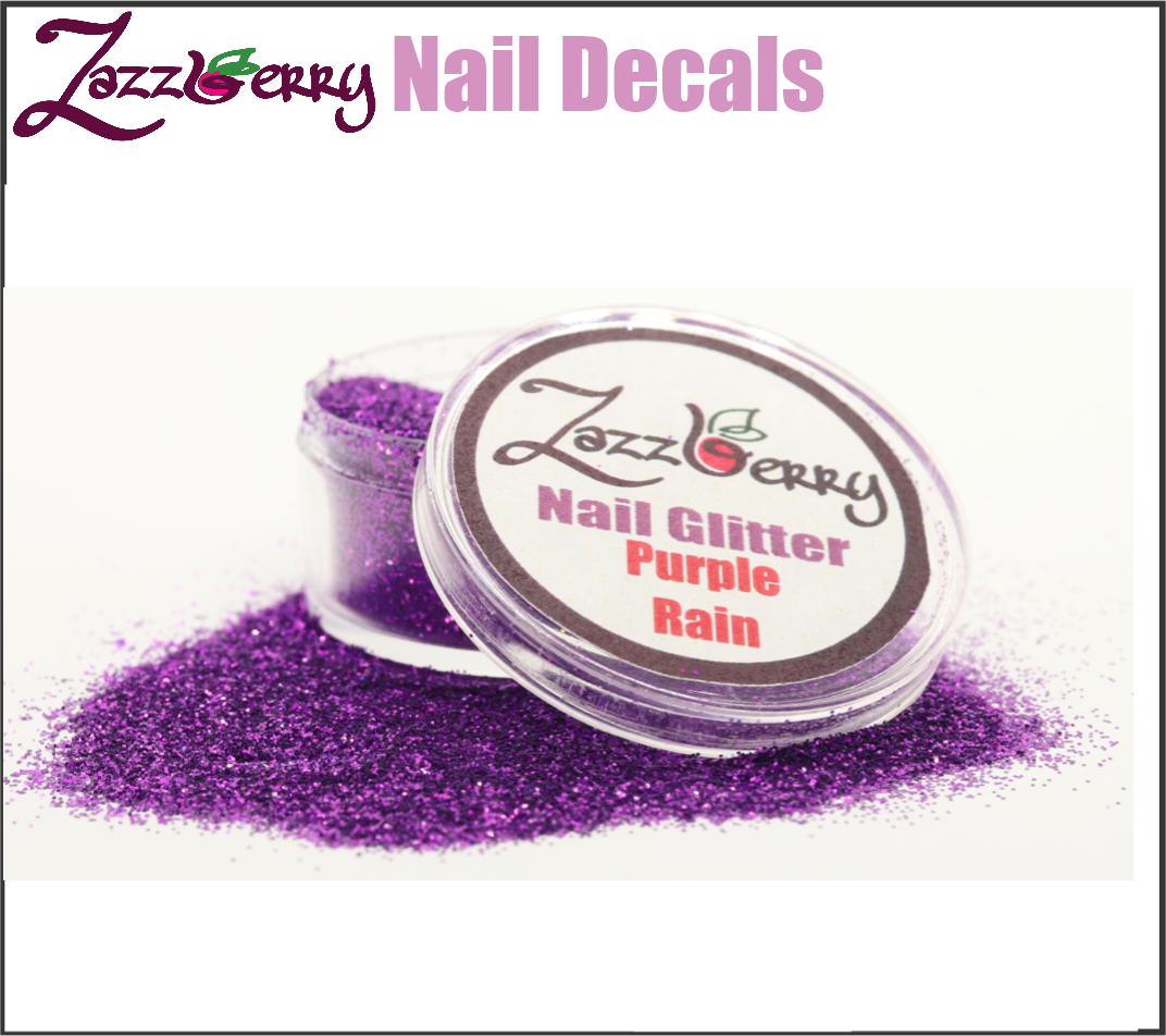 Purple Rain Nail Glitter