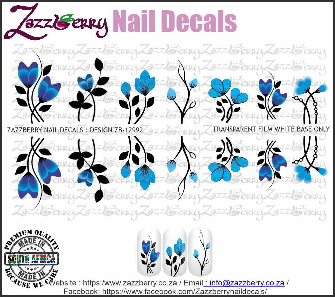 Blue Flower Mix Singles