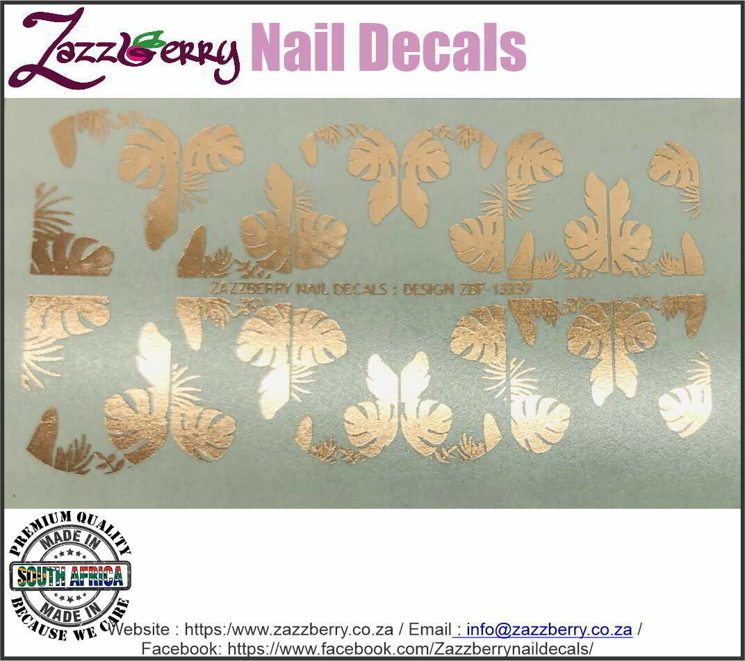 Tropical Leaves (Foil)