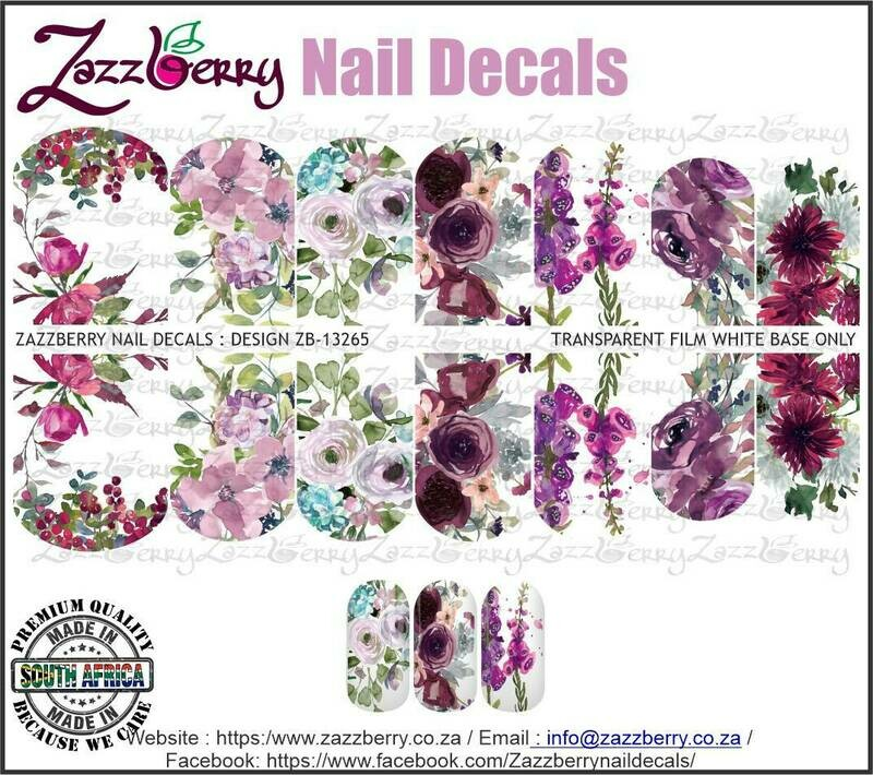 Mixed Purple Flowers