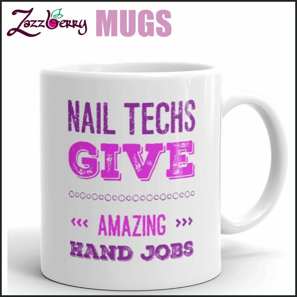 Nail Techs give Amazing Hand Jobs
