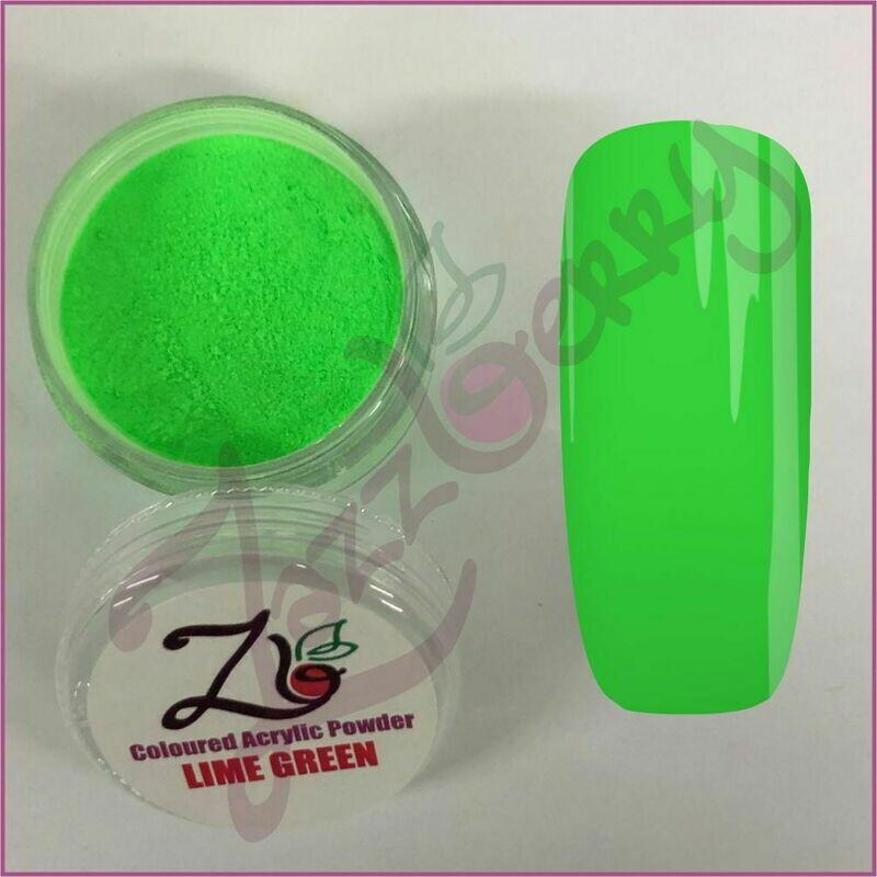Lime Green Acrylic Powder (10g)