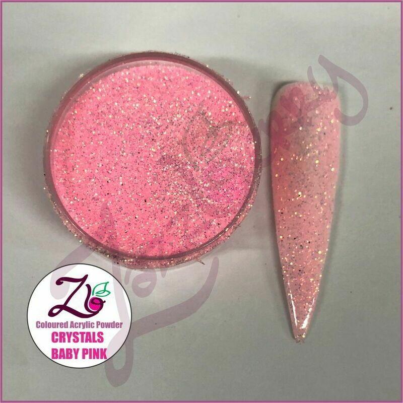 Baby Pink Crystals Acrylic Powder (10g)