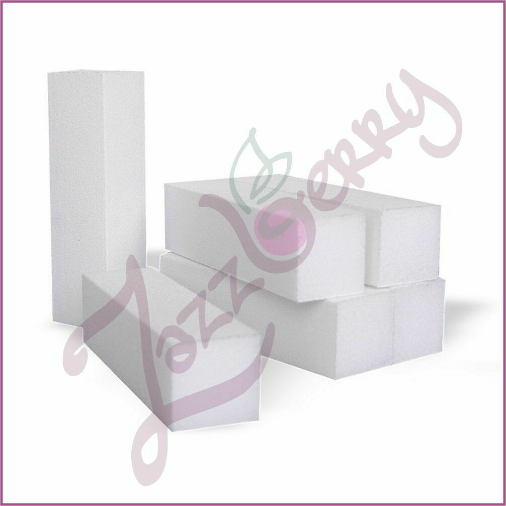 Block Buffer White (singles)