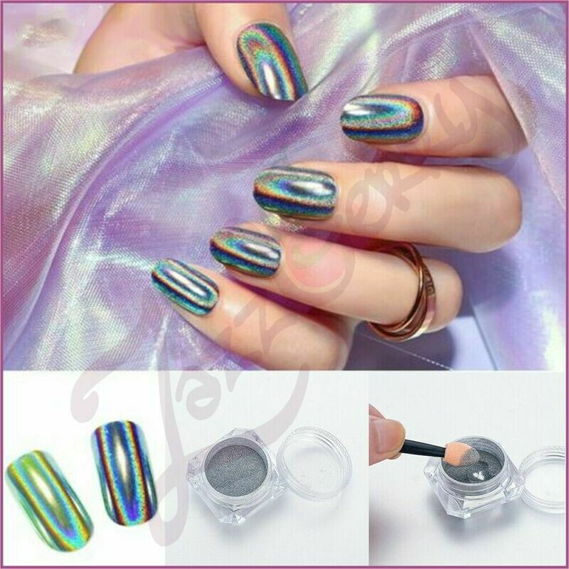 Holographic Powder 2g with 2 brush