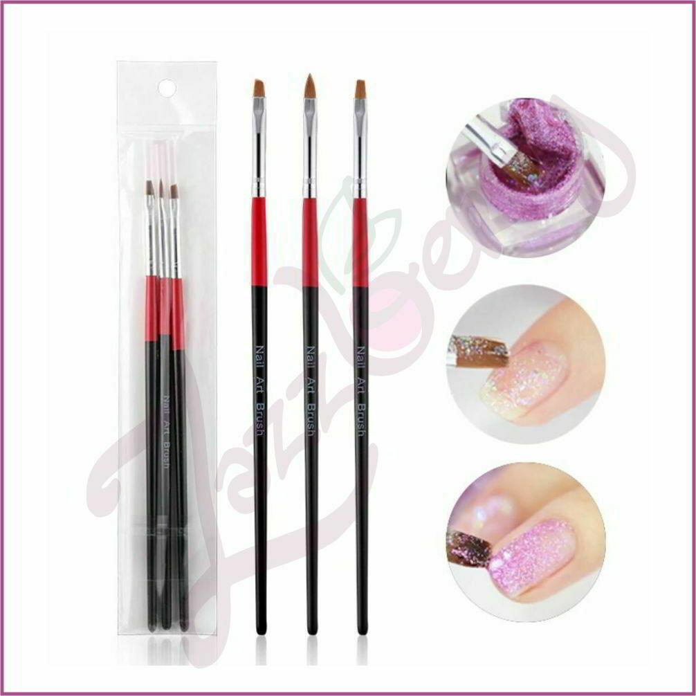 Manicure Brush - 3pcs