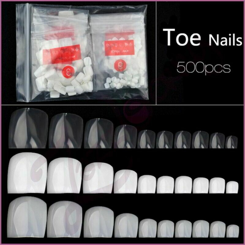 Tips : Toe Nail :500 pcs