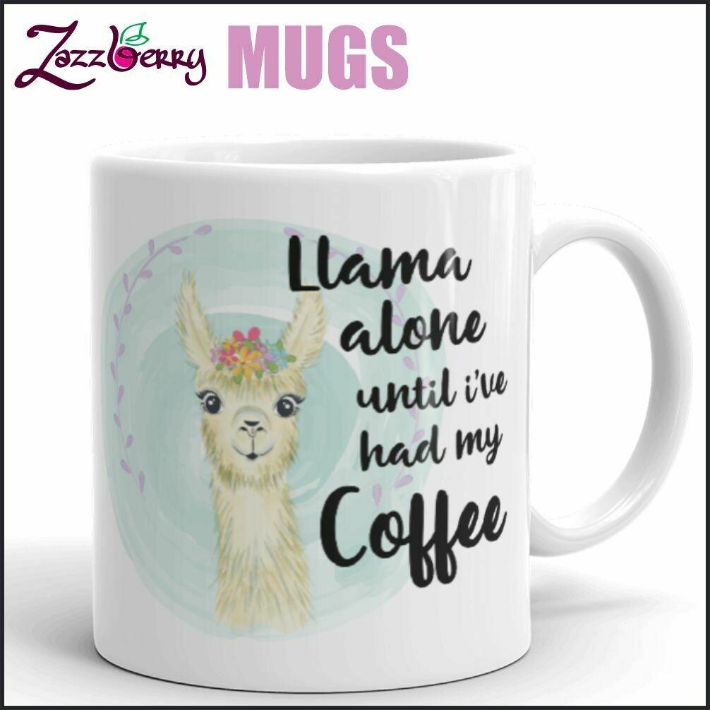 Llama Alone until I've had my Coffee