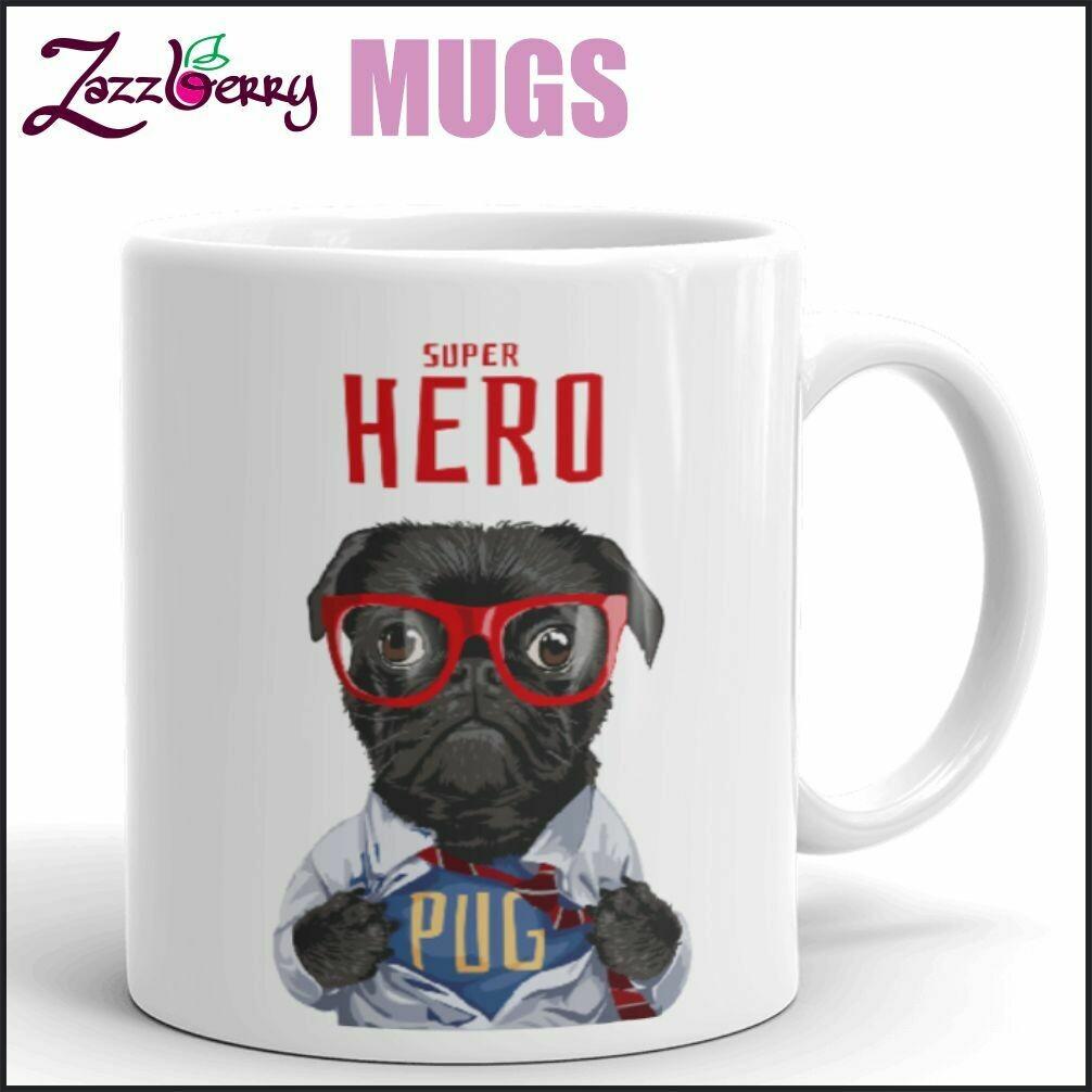 Superhero Pug