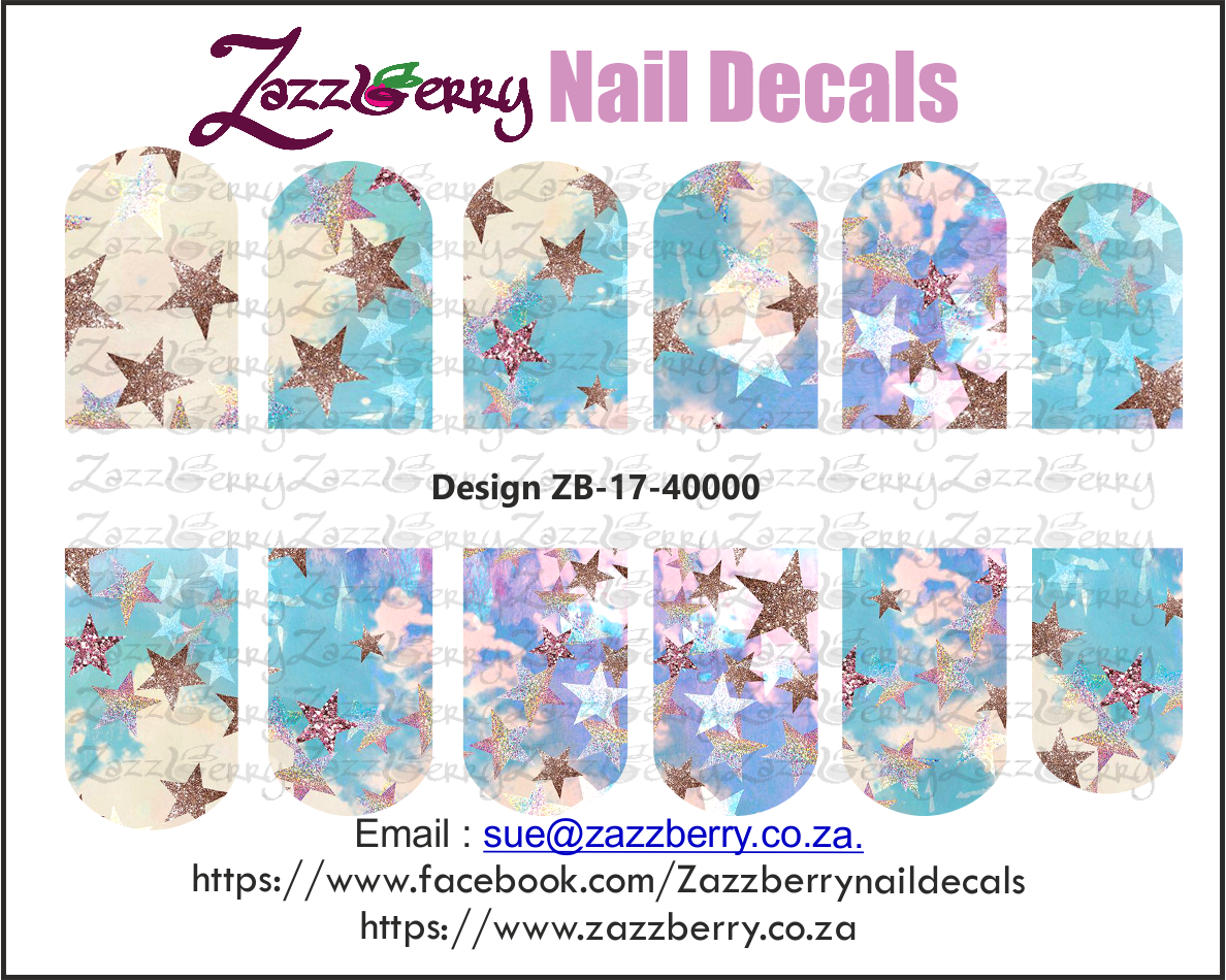 Stary Sky Nail Decals