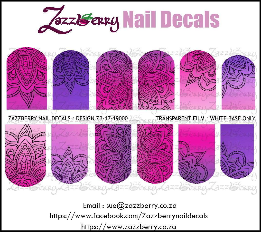 Mandala Purple / Pink Fade Design