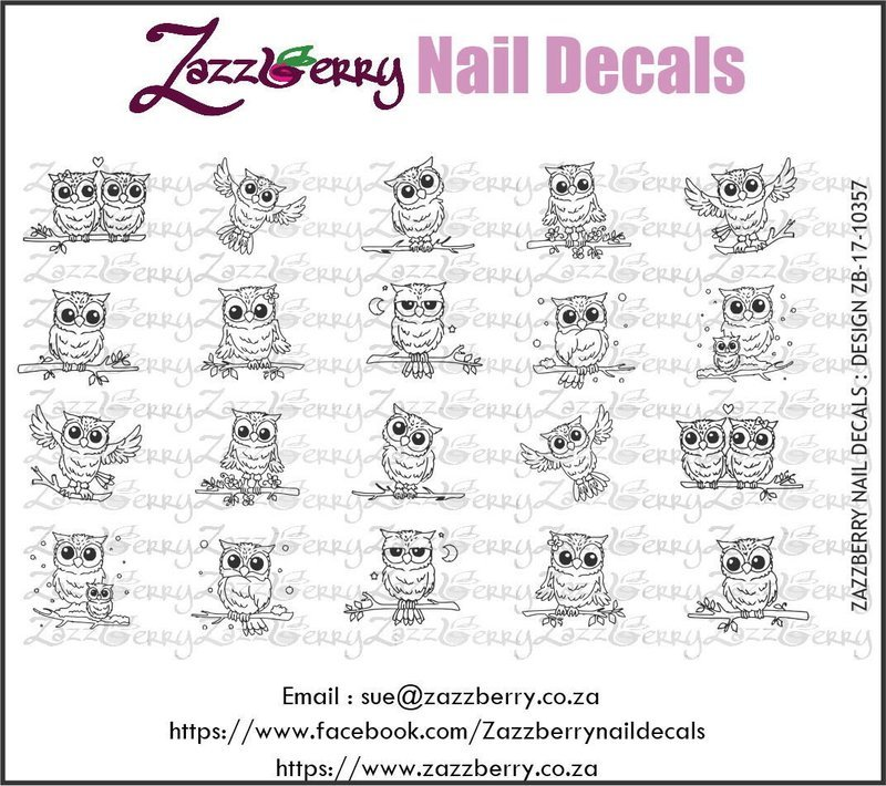 Owls - Cute Owl Outlines