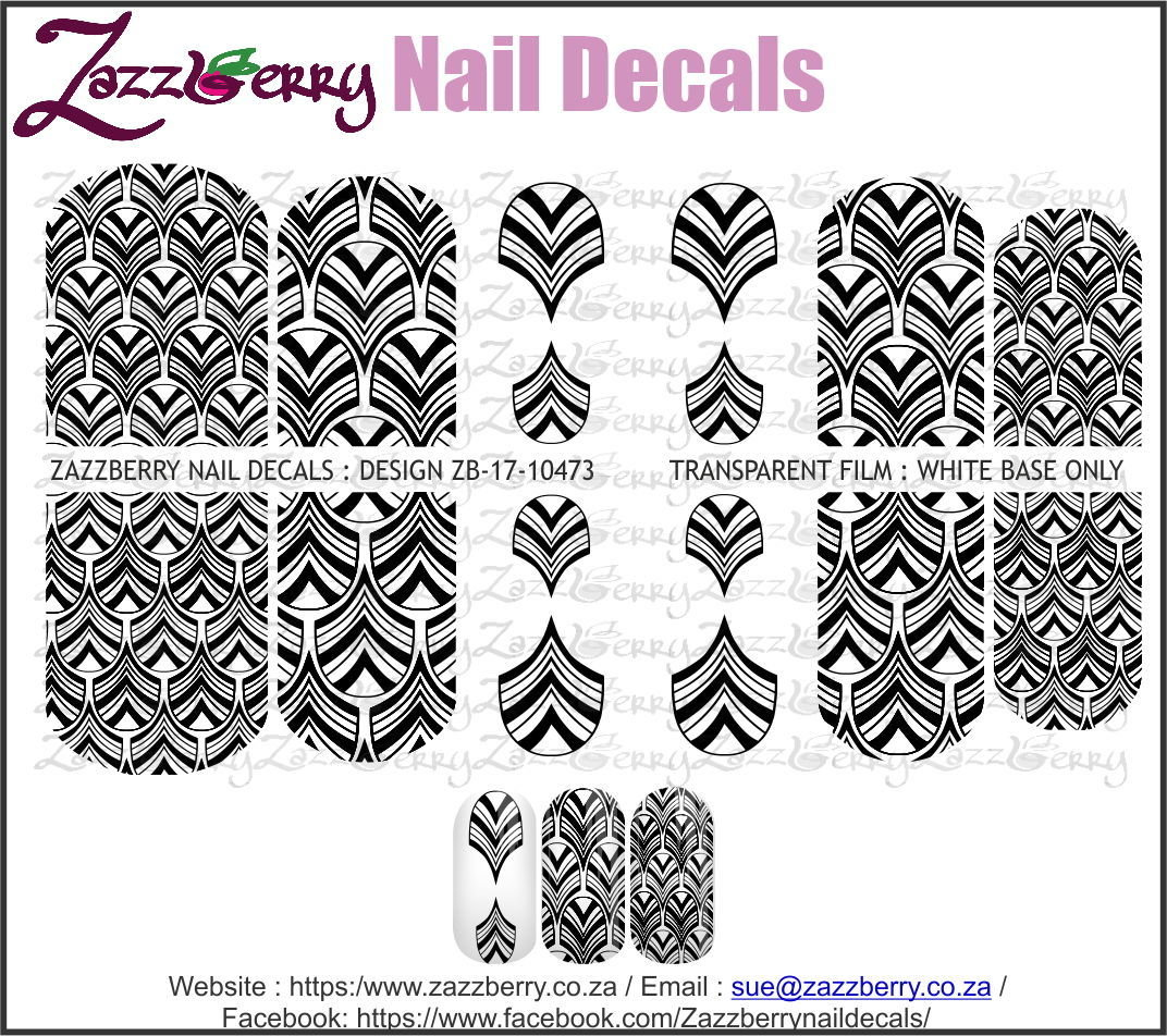 Black scale pattern