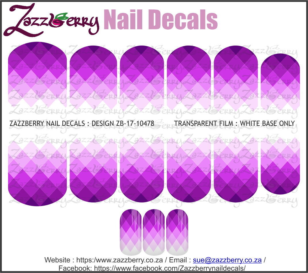 Triangles Purple Fade