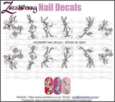 Bugs Bunny Nail Decals