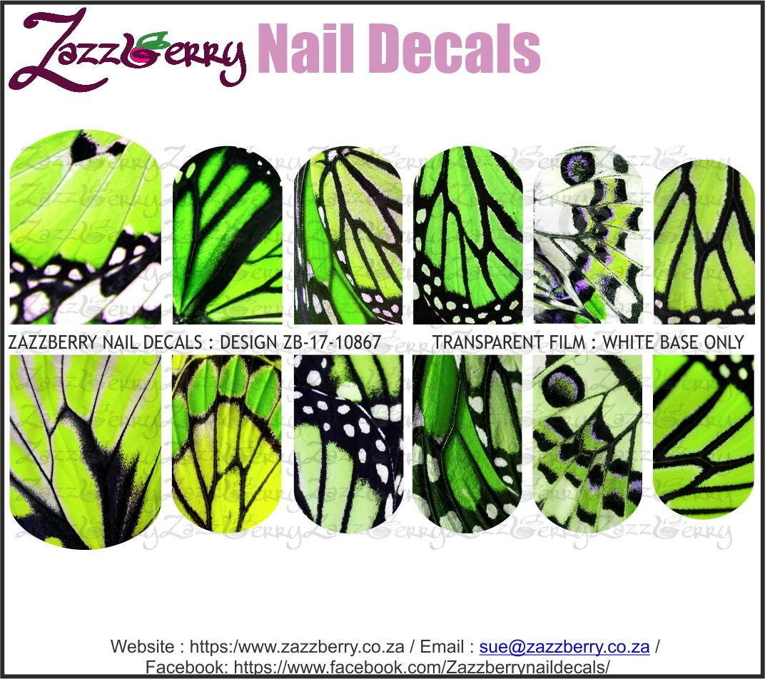 Butterfly Wings Green