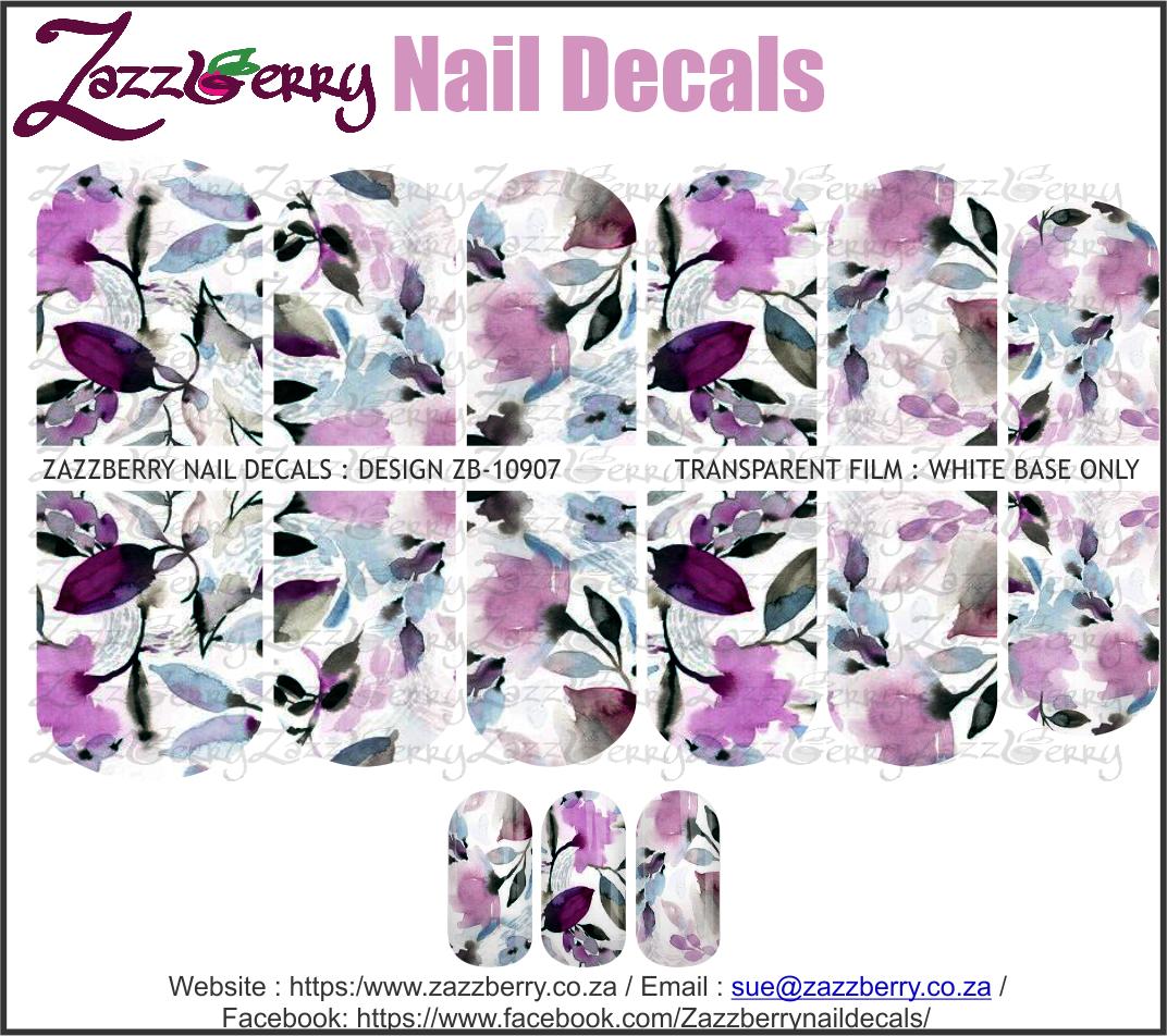 Purple Flower water Color