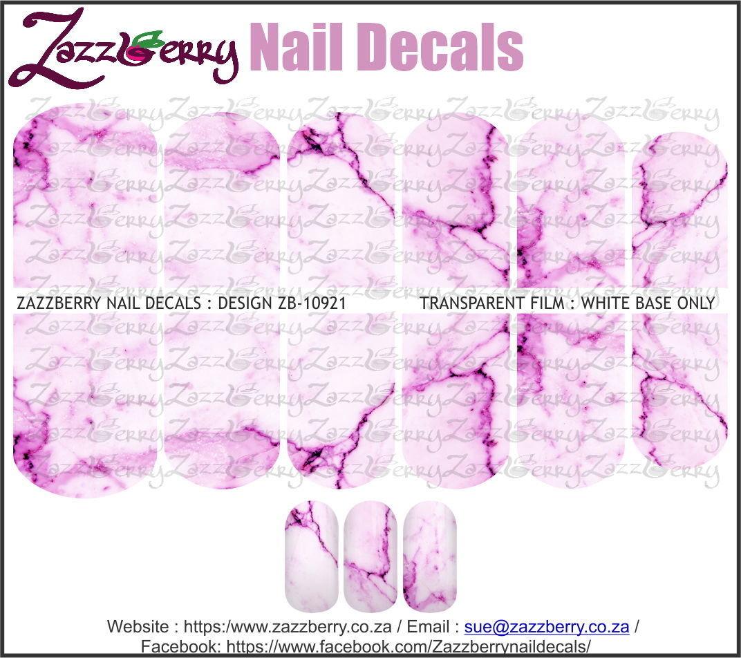 Purple / Pinkish Marble