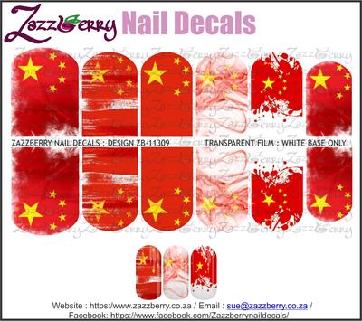 China Flag Mix