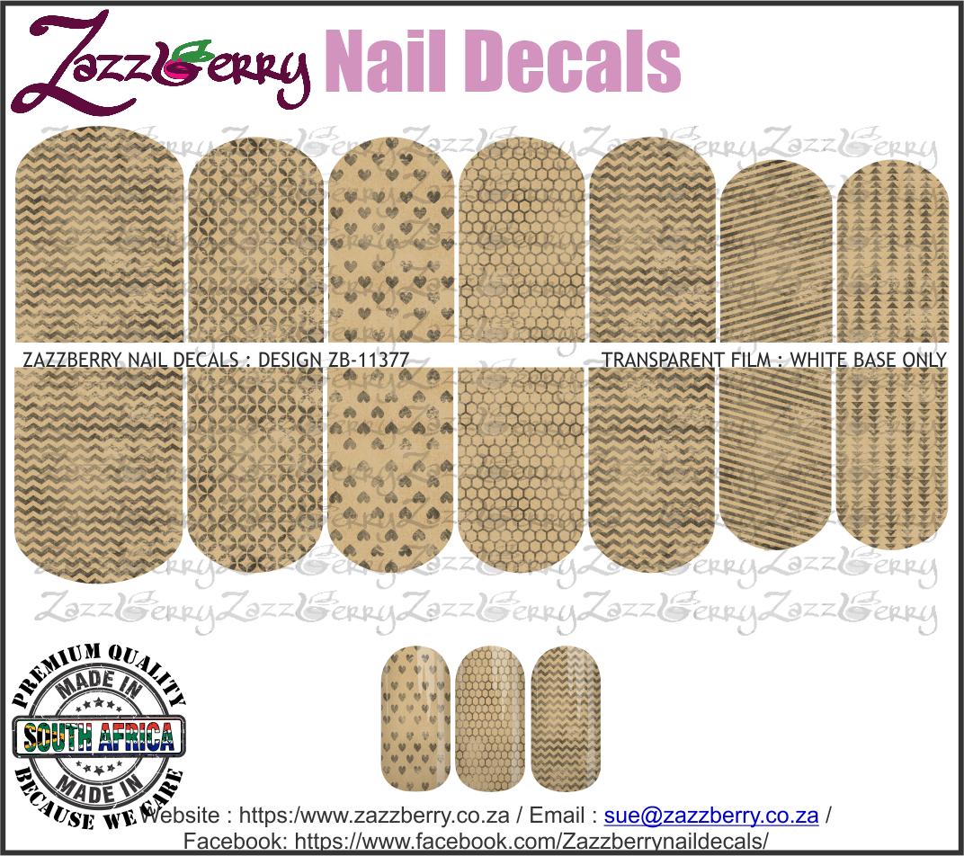 Vintage Brown Patterns II