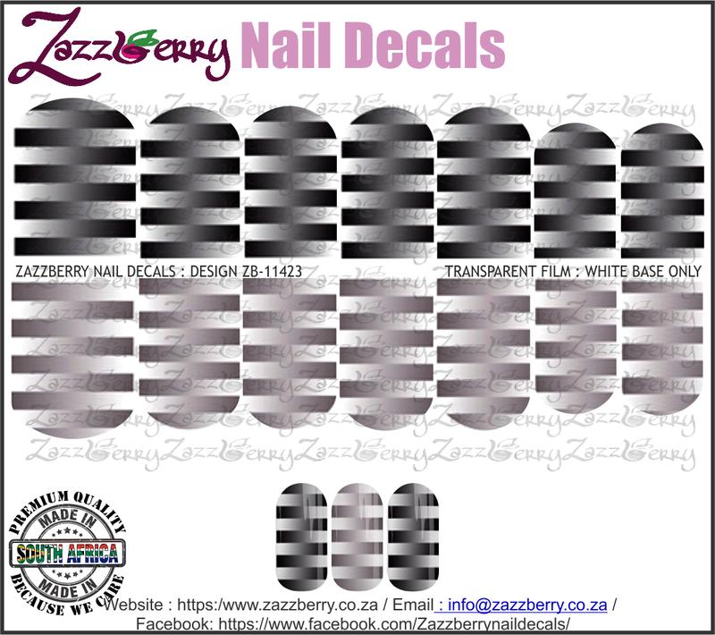 Stripe Fade Black and Grey