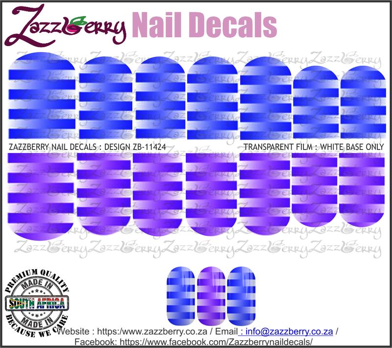 Stripe Fade Blue and Purple