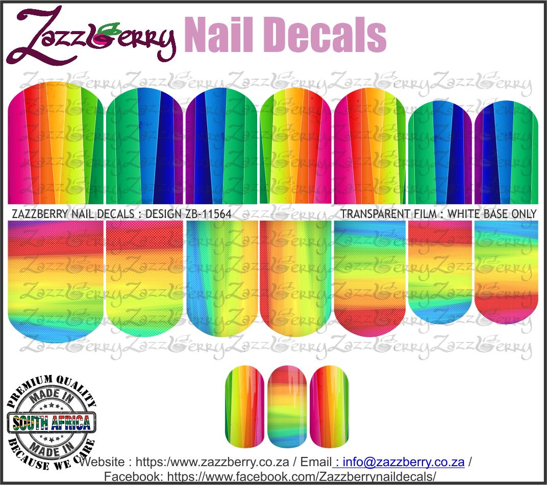 Rainbow Stripes II