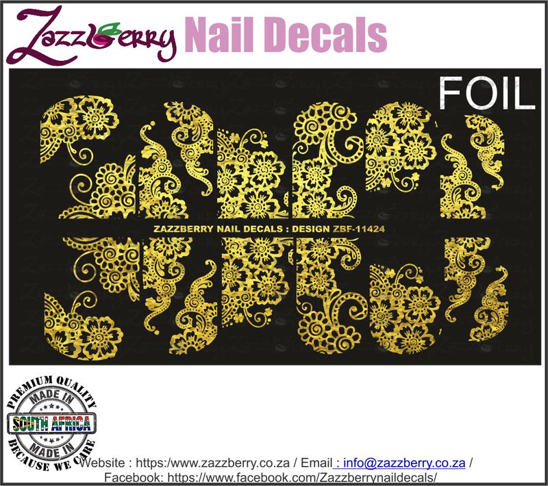 Floral Lace (Foil)