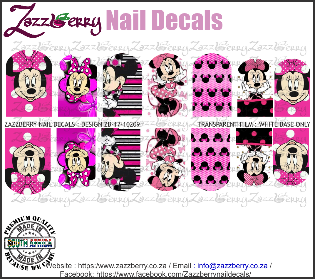 Minnie Mouse Pink Mix