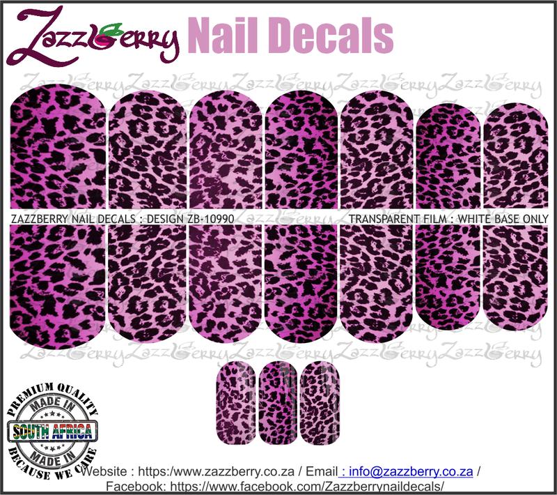 Animal Print Purple