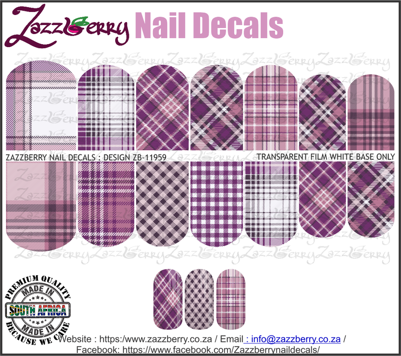 Purple Plaid Mix