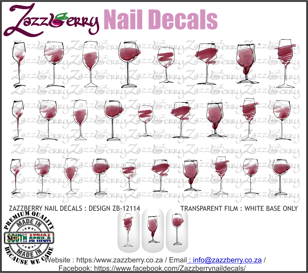 Wine Glasses Hand Drawn