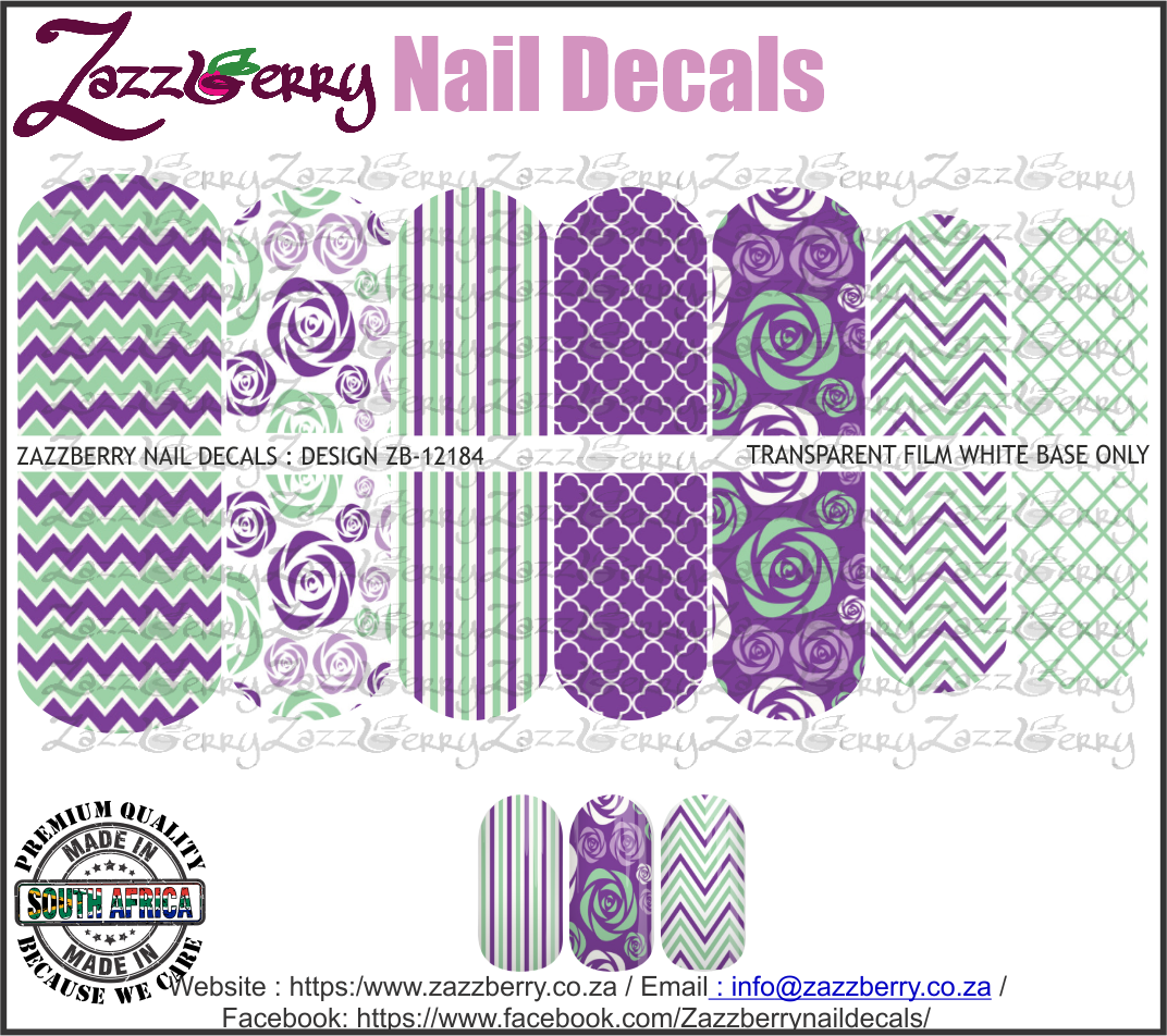 Mint and Purple Chevrons and More
