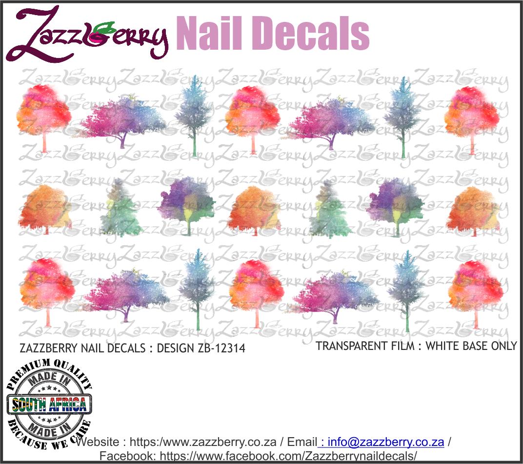 Trees Watercolor