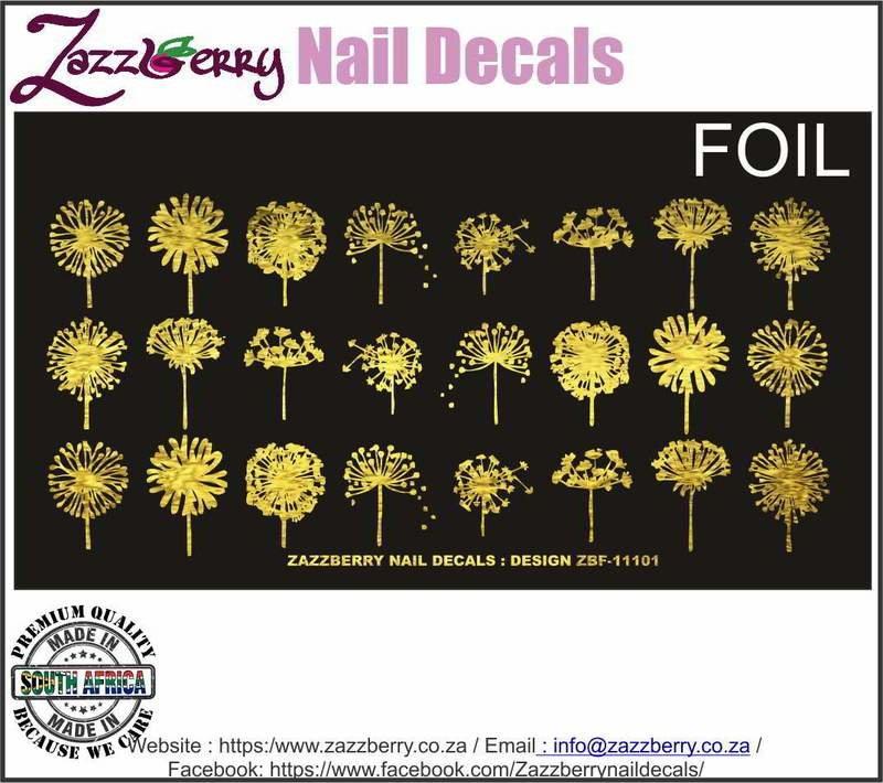 Dandelions in Foil