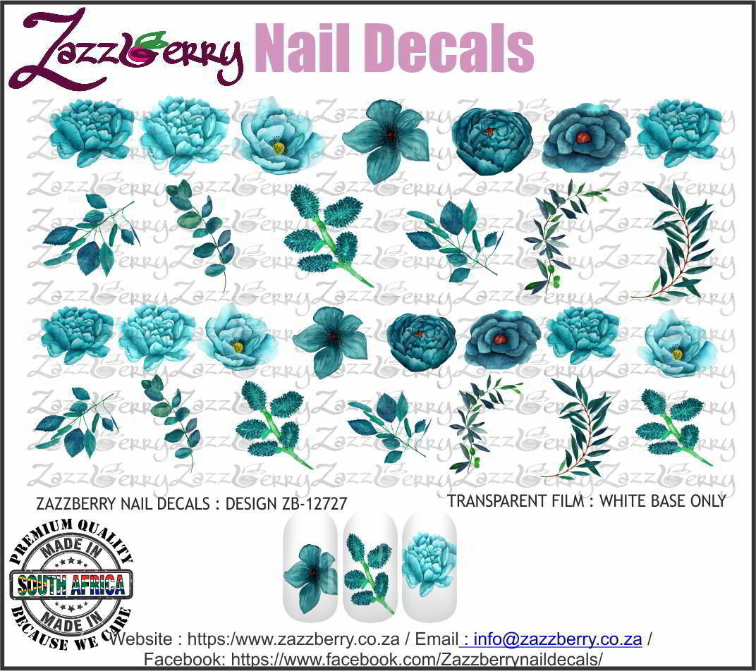 Turquoise Flower Mix