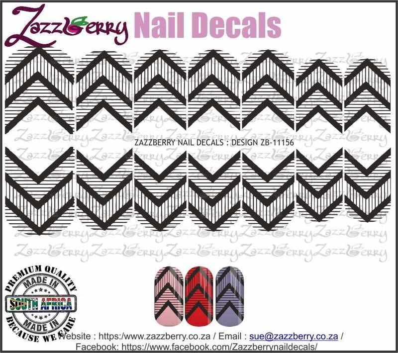 Chevron Stripes (Black or White)