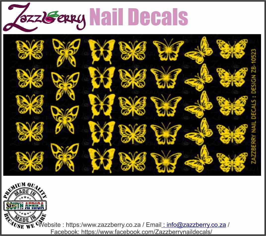 Butterflies in Foil