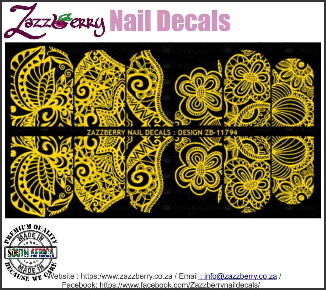 Foil Flower Pattern