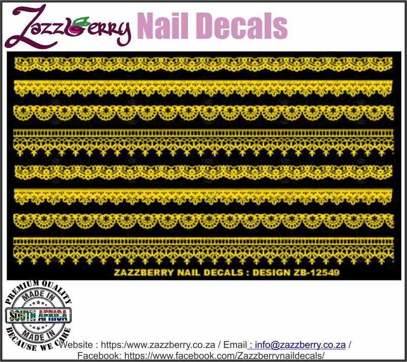 Lace Strips III (Foil)