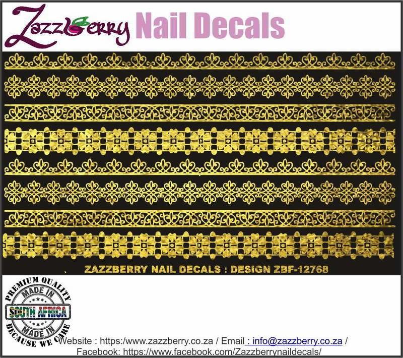 Lace Strips II (Foil)