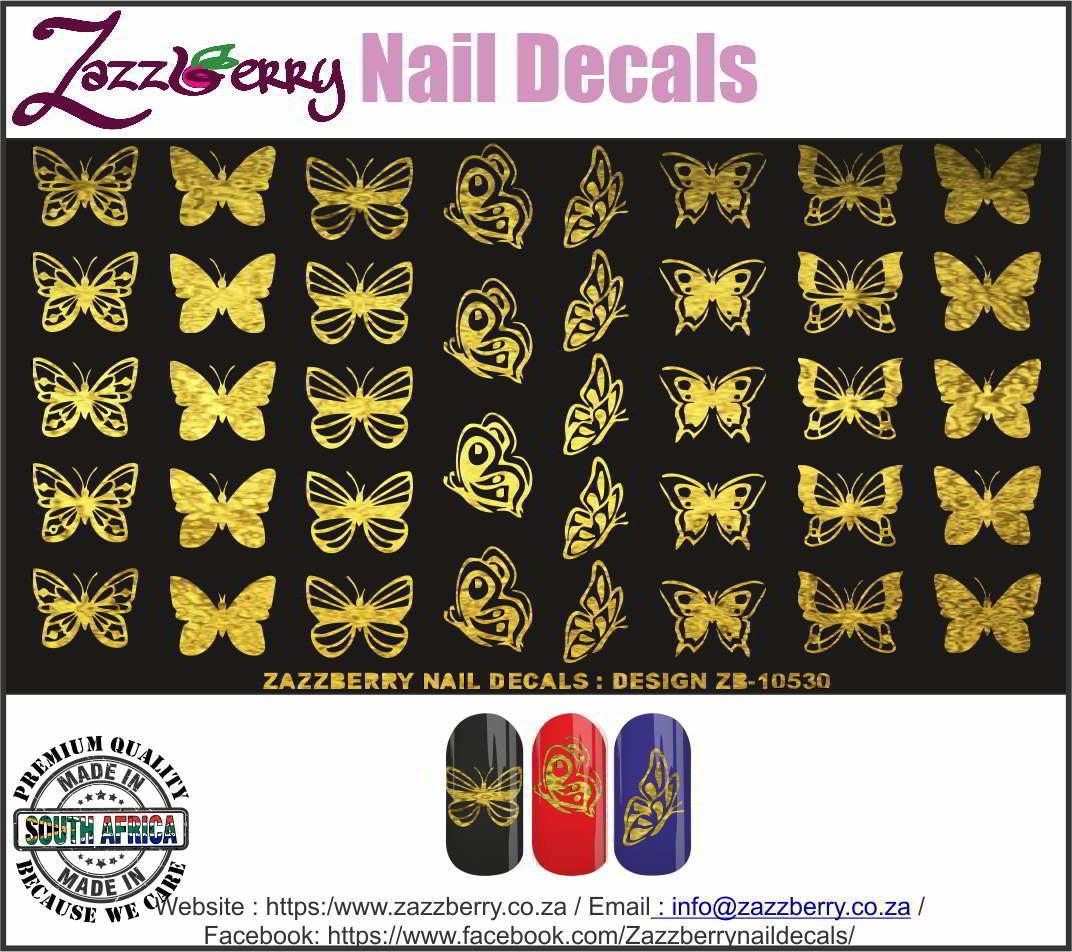 Butterflies II  in Foil