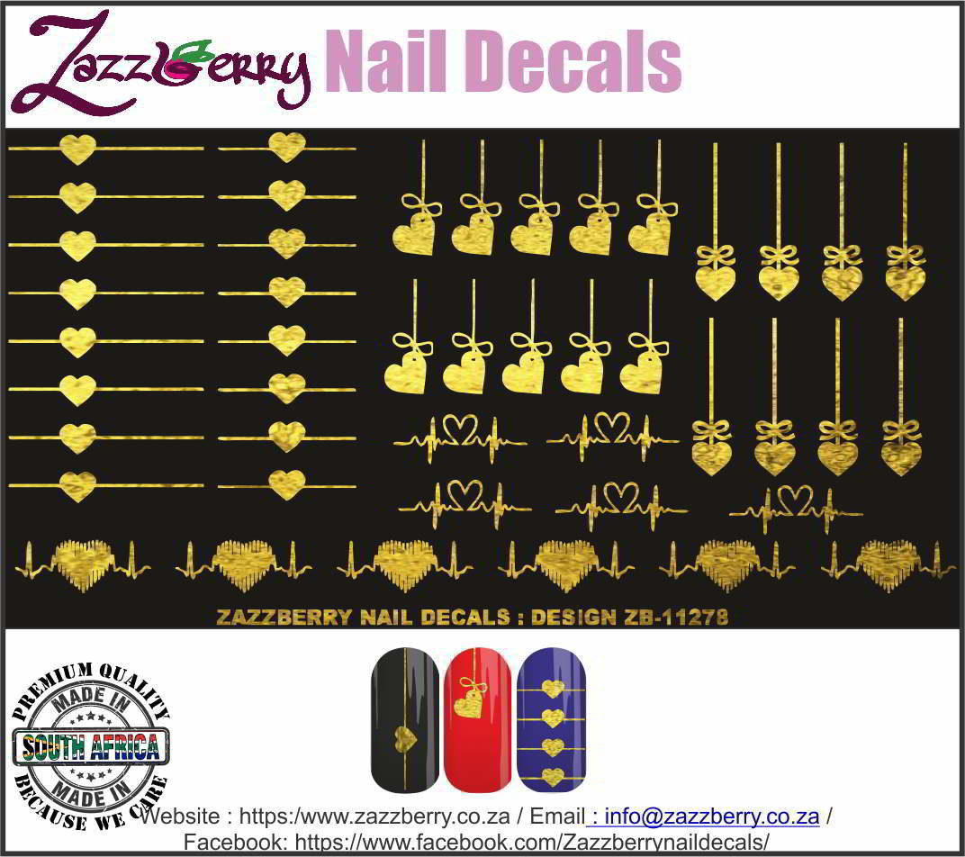 Heart Design Elements (Foil)